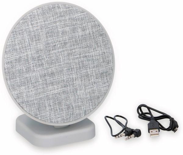 Bluetooth Lautsprecher DUNLOP, 2x3 W, grau - Produktbild 2