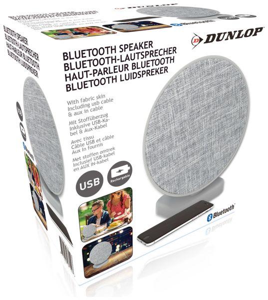 Bluetooth Lautsprecher DUNLOP, 2x3 W, grau - Produktbild 3