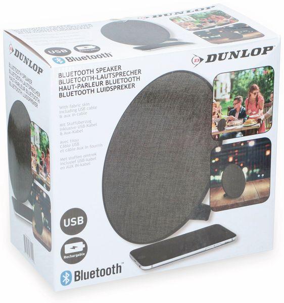 Bluetooth Lautsprecher DUNLOP, 2x5 W, schwarz