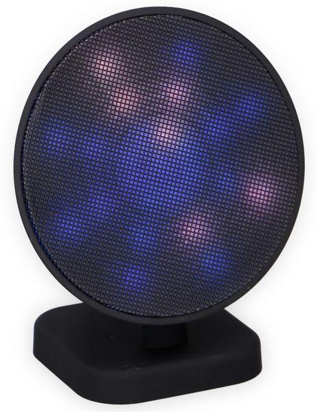 Bluetooth Lautsprecher DUNLOP 07149, 3 W, LED-Lichtshow