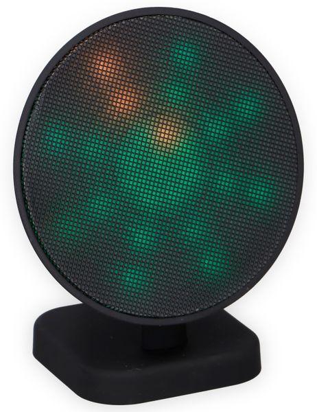 Bluetooth Lautsprecher DUNLOP 07149, 3 W, LED-Lichtshow - Produktbild 2