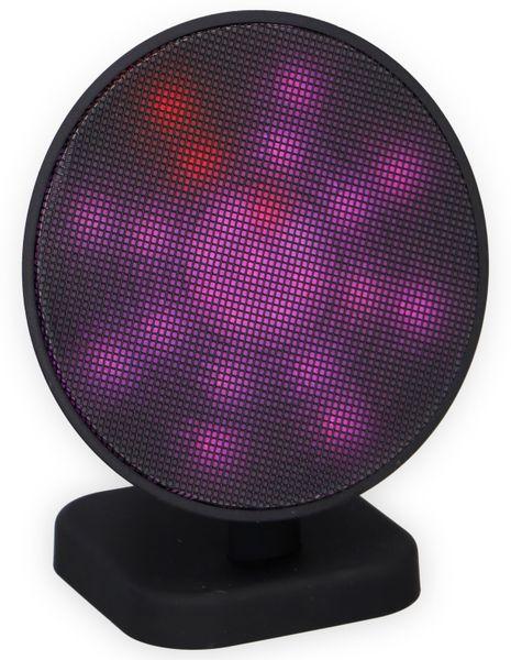 Bluetooth Lautsprecher DUNLOP 07149, 3 W, LED-Lichtshow - Produktbild 3