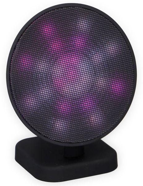 Bluetooth Lautsprecher DUNLOP 07149, 3 W, LED-Lichtshow - Produktbild 4
