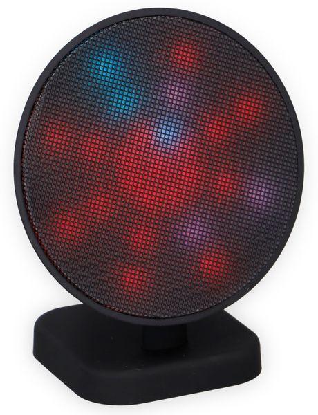 Bluetooth Lautsprecher DUNLOP 07149, 3 W, LED-Lichtshow - Produktbild 5