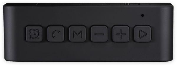Bluetooth Lautsprecher HAMA Pocket Clock, schwarz - Produktbild 4