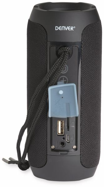 Bluetooth Lautsprecher DENVER BTS-110 , schwarz - Produktbild 3