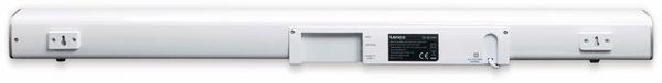 Soundbar LENCO SB-081WH, Bluetooth, USB, silber - Produktbild 3
