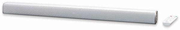 Soundbar LENCO SB-081WH, Bluetooth, USB, silber - Produktbild 5
