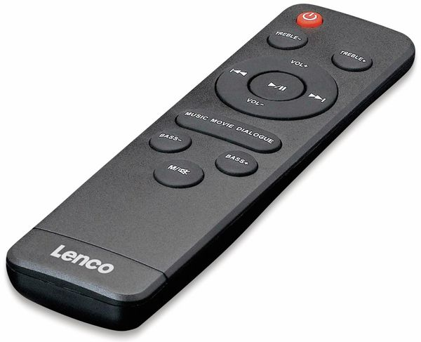 Soundbar LENCO SBW-800, Bluetooth, USB, mit Subwoofer, schwarz - Produktbild 5