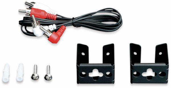 Soundbar LENCO SBW-800, Bluetooth, USB, mit Subwoofer, schwarz - Produktbild 6