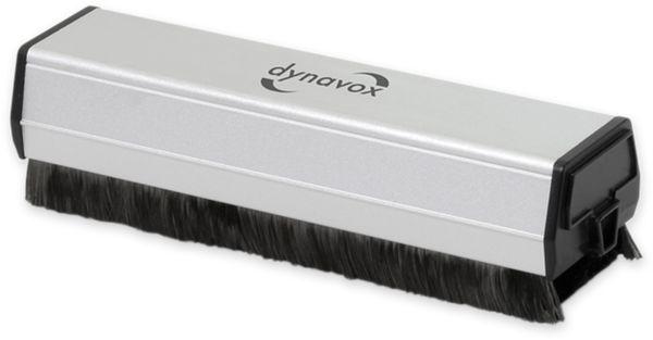 Antistatikbürste DYNAVOX CSP130, Carbon, mit Samt-Reinigungspuk