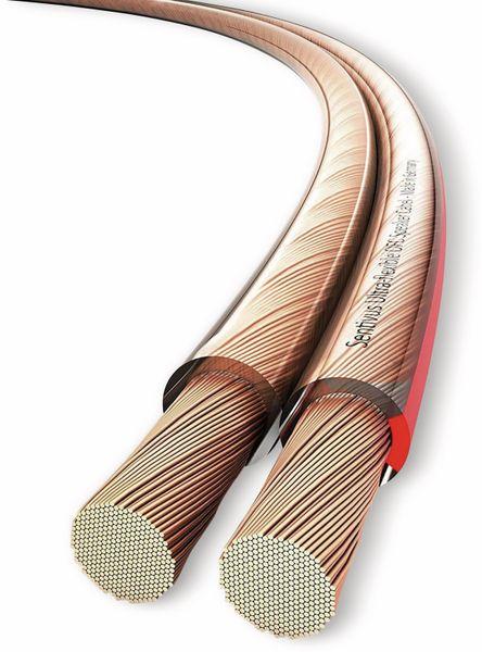 Lautsprecherkabel PURELINK, 2x1,5 mm², 50 m, transparent, OFC - Produktbild 4