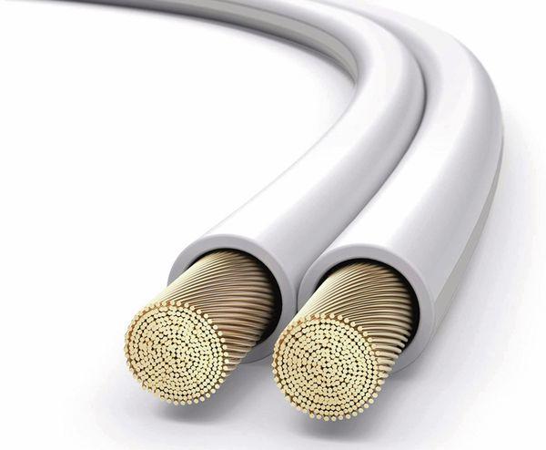 Lautsprecherkabel PURELINK, 2x1,5 mm², 15 m, weiß, OFC - Produktbild 4