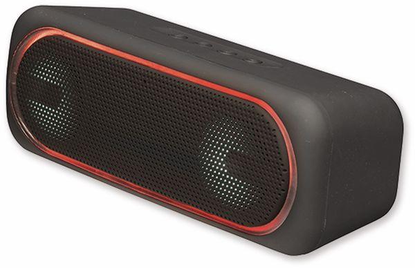 Bluetooth Lautsprecher DENVER BTT-515, 2x 5 W, mit LED-Lichteffekte