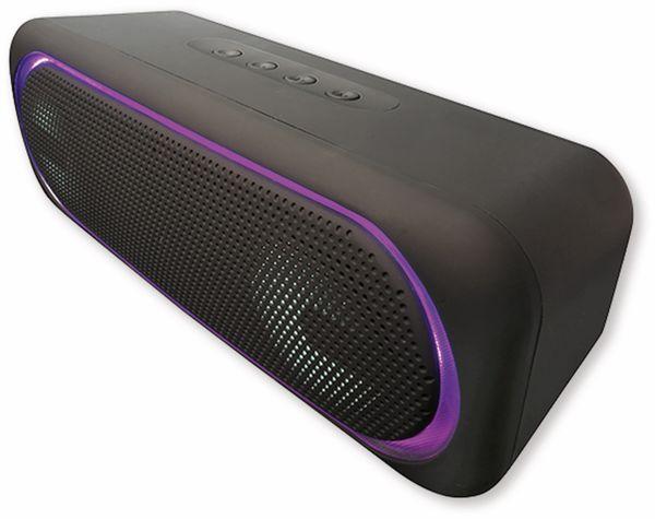 Bluetooth Lautsprecher DENVER BTT-515, 2x 5 W, mit LED-Lichteffekte - Produktbild 5