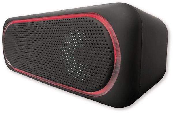 Bluetooth Lautsprecher DENVER BTT-515, 2x 5 W, mit LED-Lichteffekte - Produktbild 9
