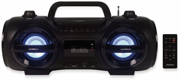 Boombox BB 500-20, schwarz, Bluetooth