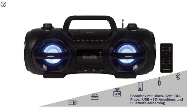 Boombox BB 500-20, schwarz, Bluetooth - Produktbild 2