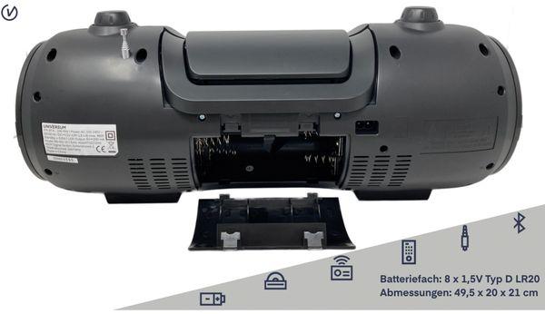 Boombox BB 500-20, schwarz, Bluetooth - Produktbild 3