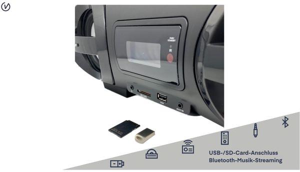 Boombox BB 500-20, schwarz, Bluetooth - Produktbild 4