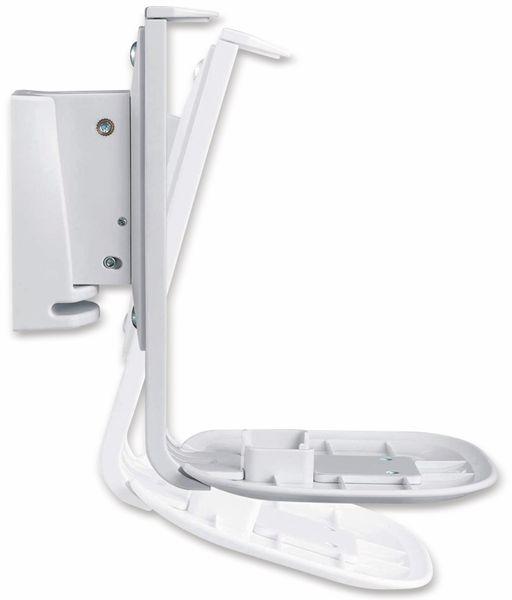 Lautsprecher-Wandhalterung PUREMOUNTS PM-SOM-051, für Sonos One, weiß - Produktbild 3