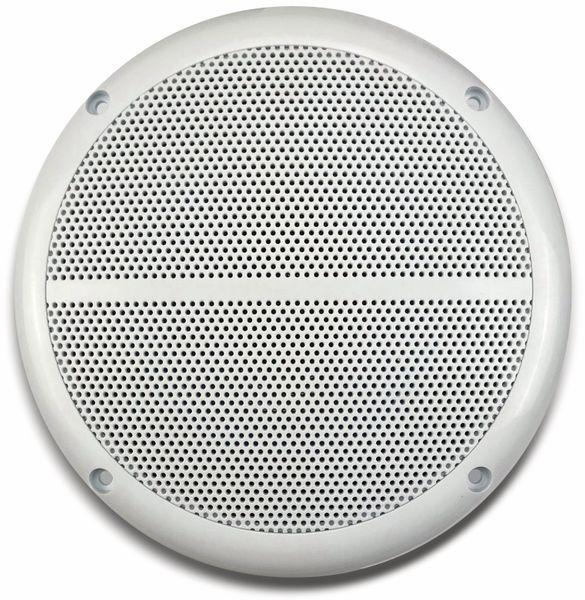 """Außen-Lautsprecher CHILITEC CT-65SL, wasserfest, SlimDesign 6,5"""", 100 W, weiß - Produktbild 2"""
