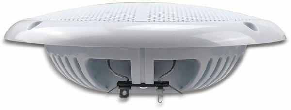"""Außen-Lautsprecher CHILITEC CT-65SL, wasserfest, SlimDesign 6,5"""", 100 W, weiß - Produktbild 4"""