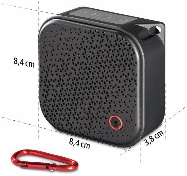 Bluetooth Lautsprecher HAMA Pocket 2.0, 3,5 W, wasserdicht, schwarz - Produktbild 5