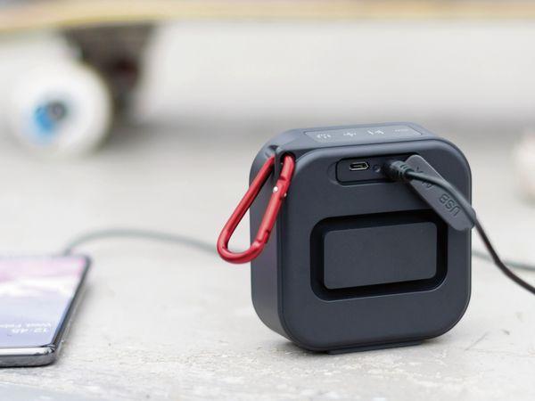 Bluetooth Lautsprecher HAMA Pocket 2.0, 3,5 W, wasserdicht, schwarz - Produktbild 7