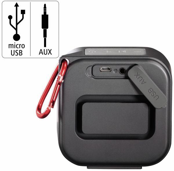 Bluetooth Lautsprecher HAMA Pocket 2.0, 3,5 W, wasserdicht, schwarz - Produktbild 8