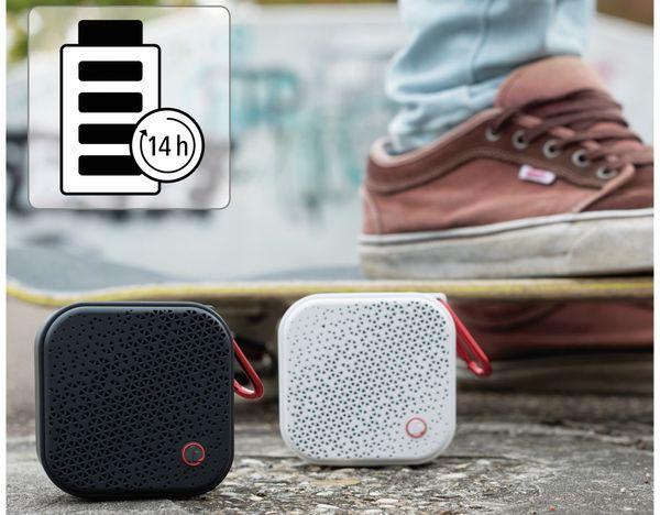 Bluetooth Lautsprecher HAMA Pocket 2.0, 3,5 W, wasserdicht, schwarz - Produktbild 9