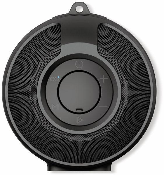 Bluetooth-Lautsprecher DENVER BTG-212, mit Tragegurt, schwarz - Produktbild 3
