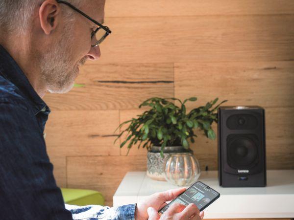 Aktiv-Lautsprecher LENCO SPB-260BK, 2x 60 W RMS, Bluetooth, schwarz - Produktbild 2