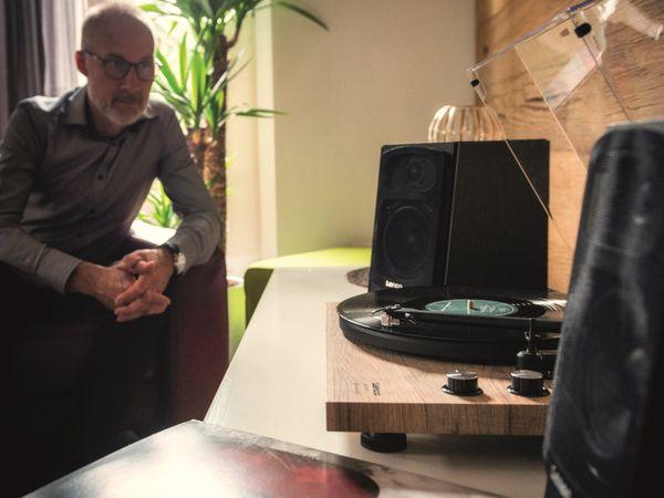 Aktiv-Lautsprecher LENCO SPB-260BK, 2x 60 W RMS, Bluetooth, schwarz - Produktbild 4