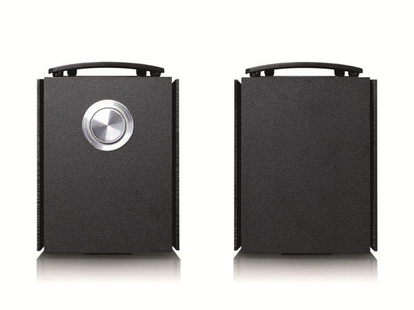 Aktiv-Lautsprecher LENCO SPB-260BK, 2x 60 W RMS, Bluetooth, schwarz - Produktbild 9