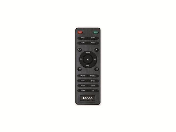 Aktiv-Lautsprecher LENCO SPB-260BK, 2x 60 W RMS, Bluetooth, schwarz - Produktbild 10