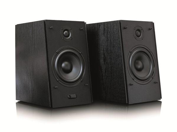 Aktiv-Lautsprecher LENCO SPB-260BK, 2x 60 W RMS, Bluetooth, schwarz - Produktbild 12