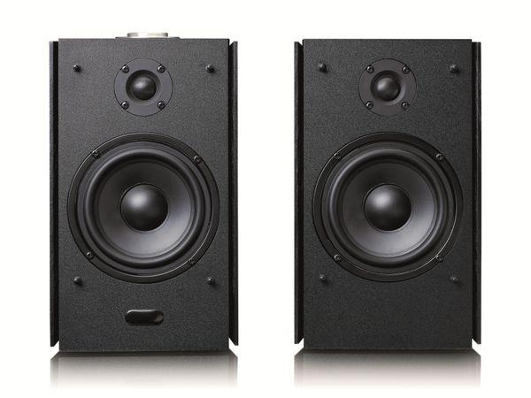 Aktiv-Lautsprecher LENCO SPB-260BK, 2x 60 W RMS, Bluetooth, schwarz - Produktbild 13