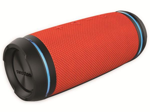 Bluetooth Lautsprecher SWISSTONE BX 520 TWS, Orange - Produktbild 4