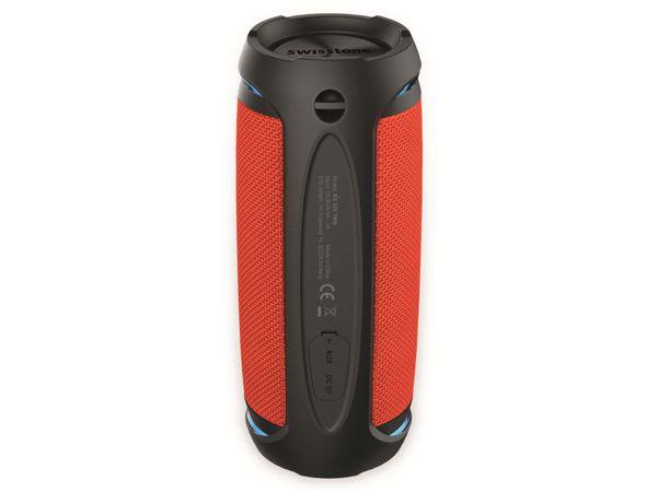 Bluetooth Lautsprecher SWISSTONE BX 520 TWS, Orange - Produktbild 8