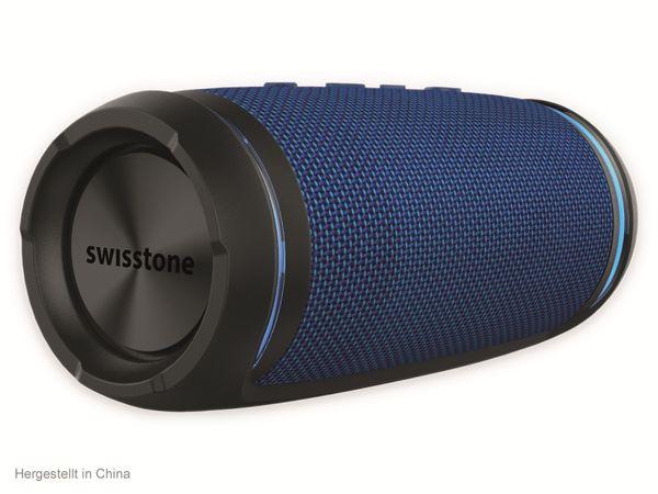 Bluetooth Lautsprecher SWISSTONE BX 520 TWS, Blau