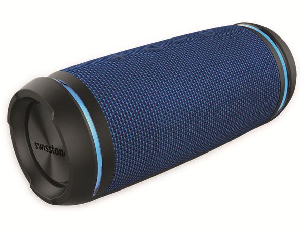 Bluetooth Lautsprecher SWISSTONE BX 520 TWS, Blau - Produktbild 3