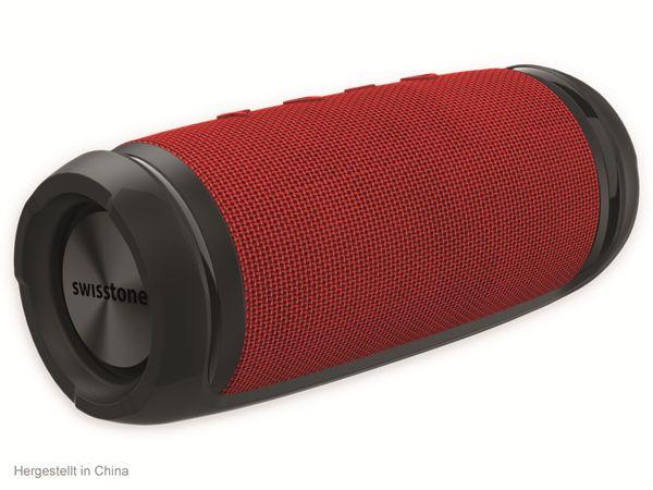 Bluetooth Lautsprecher SWISSTONE BX 320 TWS, rot