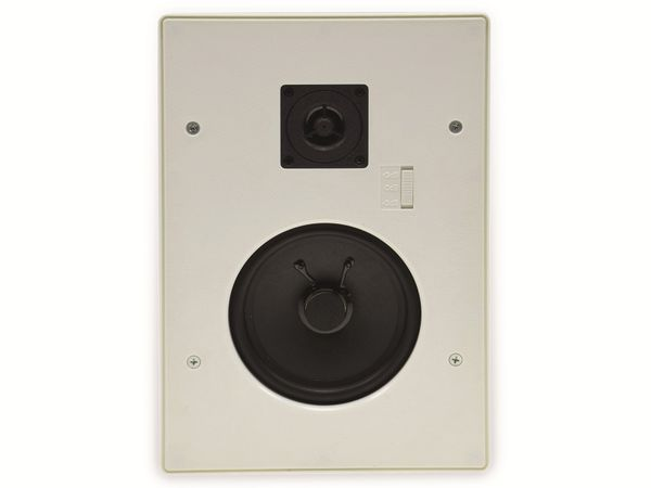 Einbaulautsprecher CHILITEC CTE-34E, 120 W, eckig, weiß - Produktbild 3