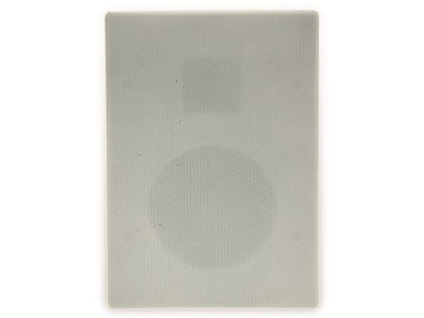 Einbaulautsprecher CHILITEC CTE-34E, 120 W, eckig, weiß - Produktbild 4