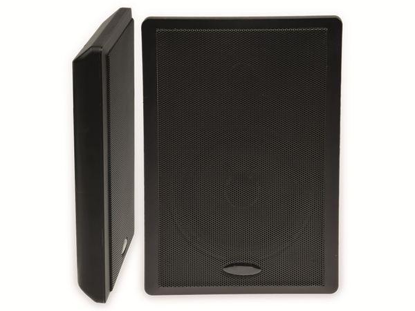 Flach-Lautsprecher CHILITEC 17803, 40 W, schwarz, 2 Stück
