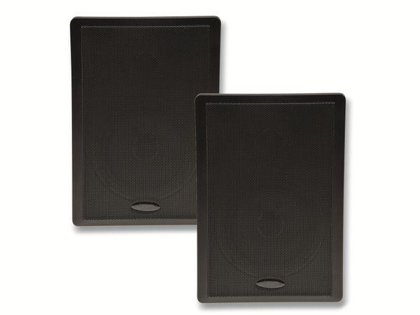 Flach-Lautsprecher CHILITEC 17803, 40 W, schwarz, 2 Stück - Produktbild 3