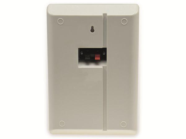 Flach-Lautsprecher CHILITEC 17804, 40 W, weiß, 2 Stück - Produktbild 2