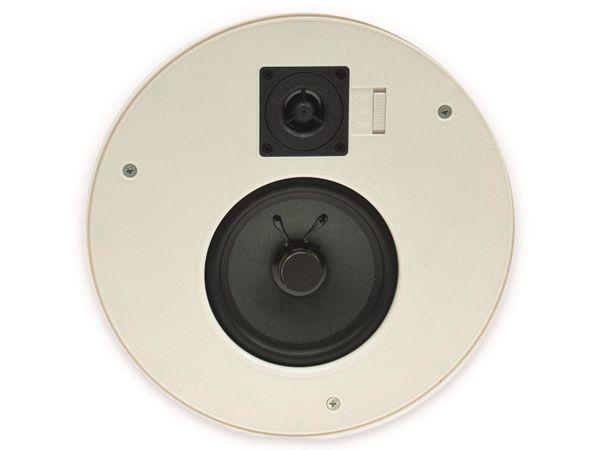 Einbaulautsprecher CHILITEC CTE-26R, 120 W, rund, weiß - Produktbild 4