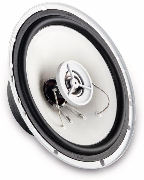 2-Wege-Koax-Lautsprecher HAMA 136681, 30/150 W, 2 Stück, weiß - Produktbild 2